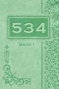 "Printausgabe des Fantasyromans ""534"" - Band I"